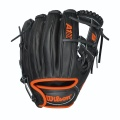 A1K Black/Neon Orange Pedroia 11.5""