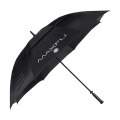 "Double Canopy 62"" Golf Umbrella - Black"