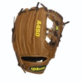 "A450 Pedroia Saddle Tan/Dark Brown All Positions 10.75"" - Youth"