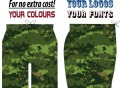 SUBLIMATED CUSTOM SHORTS 9210