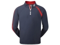 FJ Men Brushed Preformance Half-Zip Jersey