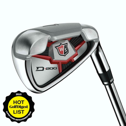 WILSON STAFF D200 IRONS STEEL SET (4-9, PW, GW)