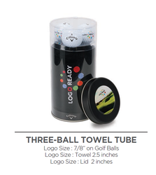 3-Ball Towel Tube