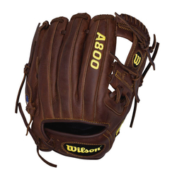 A800 Game Ready Softfit Brown Infield/Pitcher 11.75""