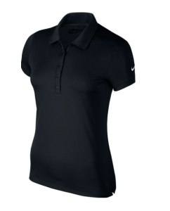 Nike Woman's Victory Solid Polo - VICTORY SHORT SLEEVE POLO